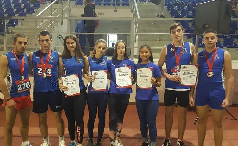 PRVENSTVO SRBIJE ZA STARIJE JUNIORE Tri juniorske  medalje za AK Panoniju