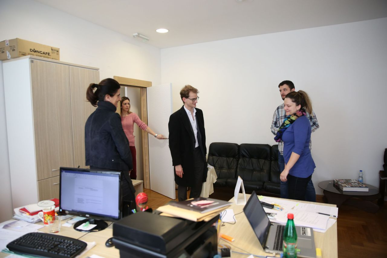 Директор Аустријског културног форума у посети Културном центру Новог Сада!