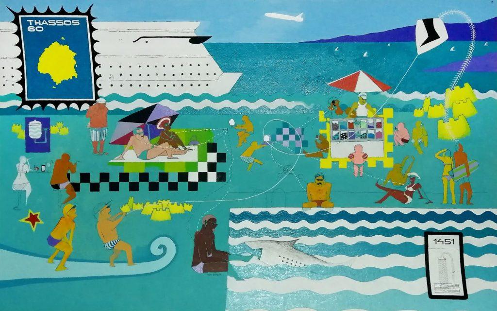 """Izložba slika """"On the Beach"""" Petra Šušulića od 24. februara u Malom likovnom salonu"""