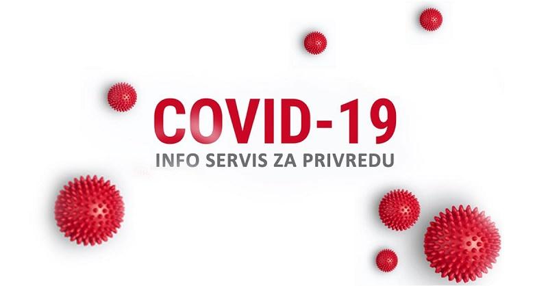 ПРИВРЕДНА КОМОРА СРБИЈЕ ПОКРЕНУЛА COVID 19 ИНФО СЕРВИС ЗА ПРИВРЕДУ