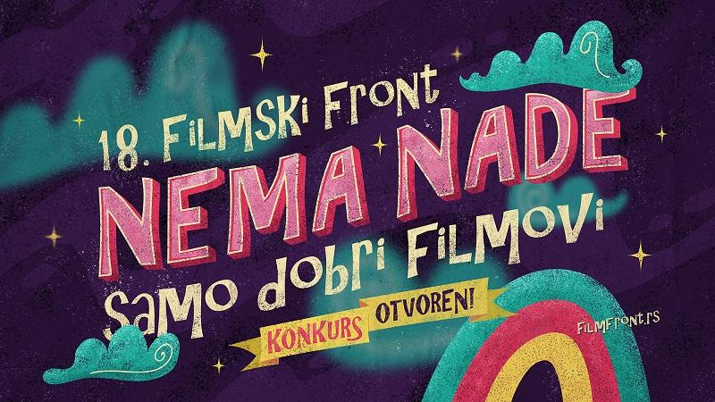 OTVOREN KONKURS ZA PRIJAVE FILMOVA NA 18. FILMSKI FRONT