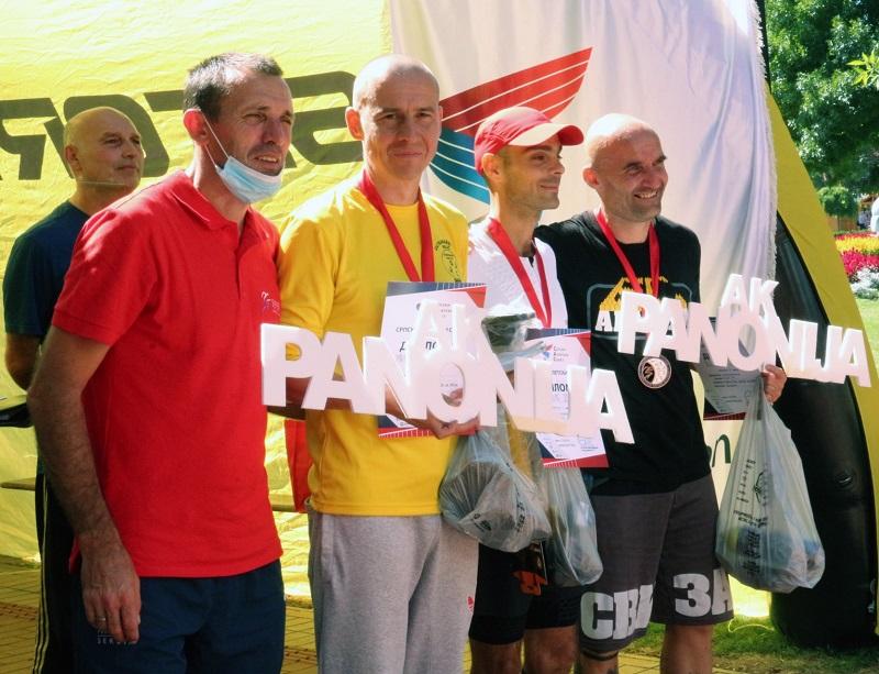 ŠESNAESTA MEDALJA ZA PANONIJU 2 medalje na Ultramaratonu na Paliću