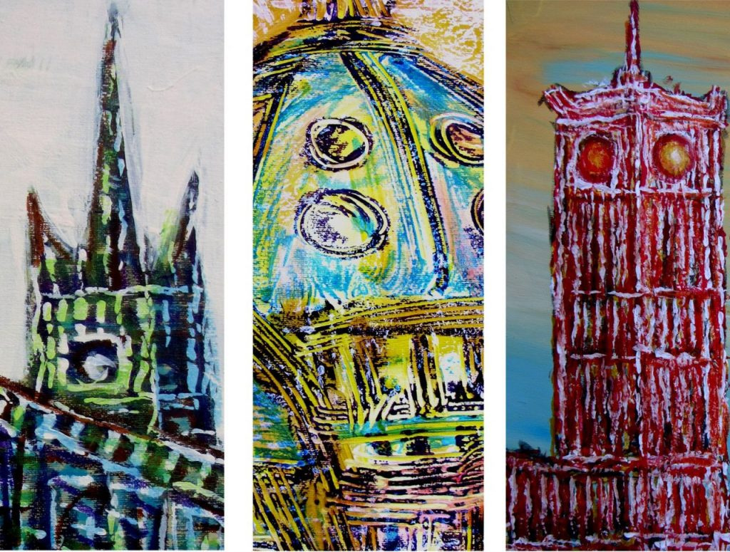 """Изложба слика """"Берлин"""" Угљеше Цолића од 7. септембра у Ликовном салону"""