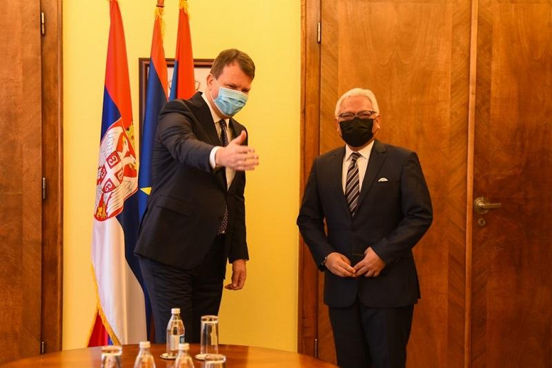 МИРОВИЋ И АМБАСАДОР ИНДОНЕЗИЈЕ О ПРОШИРЕЊУ ЕКОНОМСКЕ САРАДЊЕ