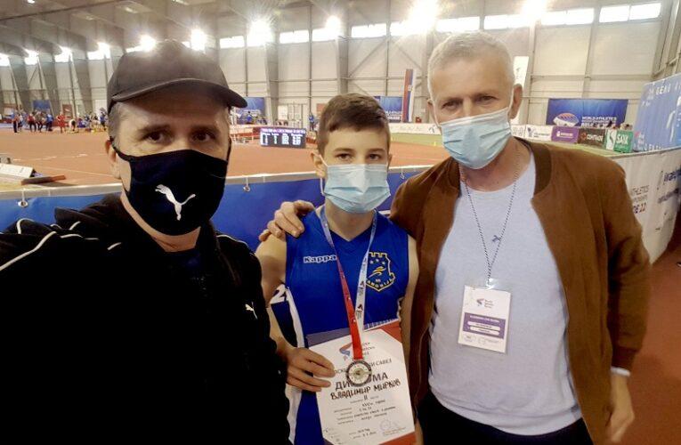 TRI SREBRA ZA PANONIJU Mirkov dvostruki vicešampion Srbije