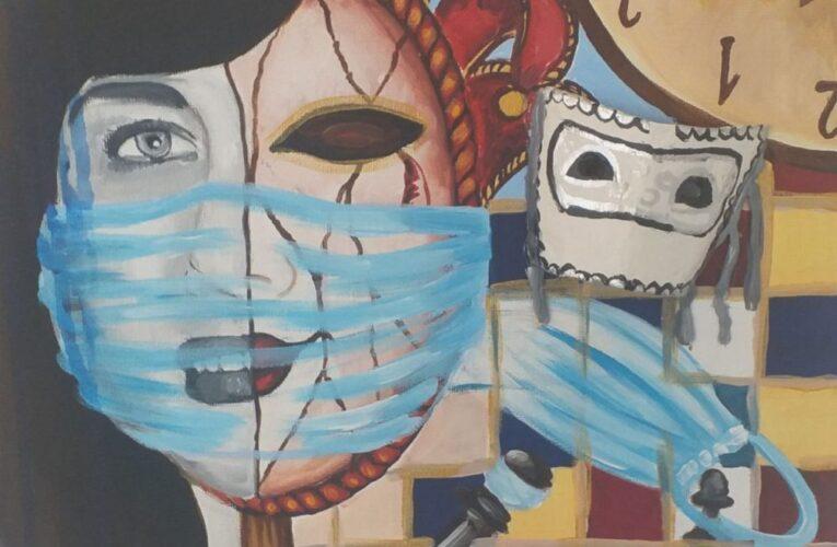 """Изложба """"ВРЕМЕ МАСКИ – КОЈА ЈЕ ТВОЈА?"""" до 29. априла у клубу """"Трибина младих"""""""