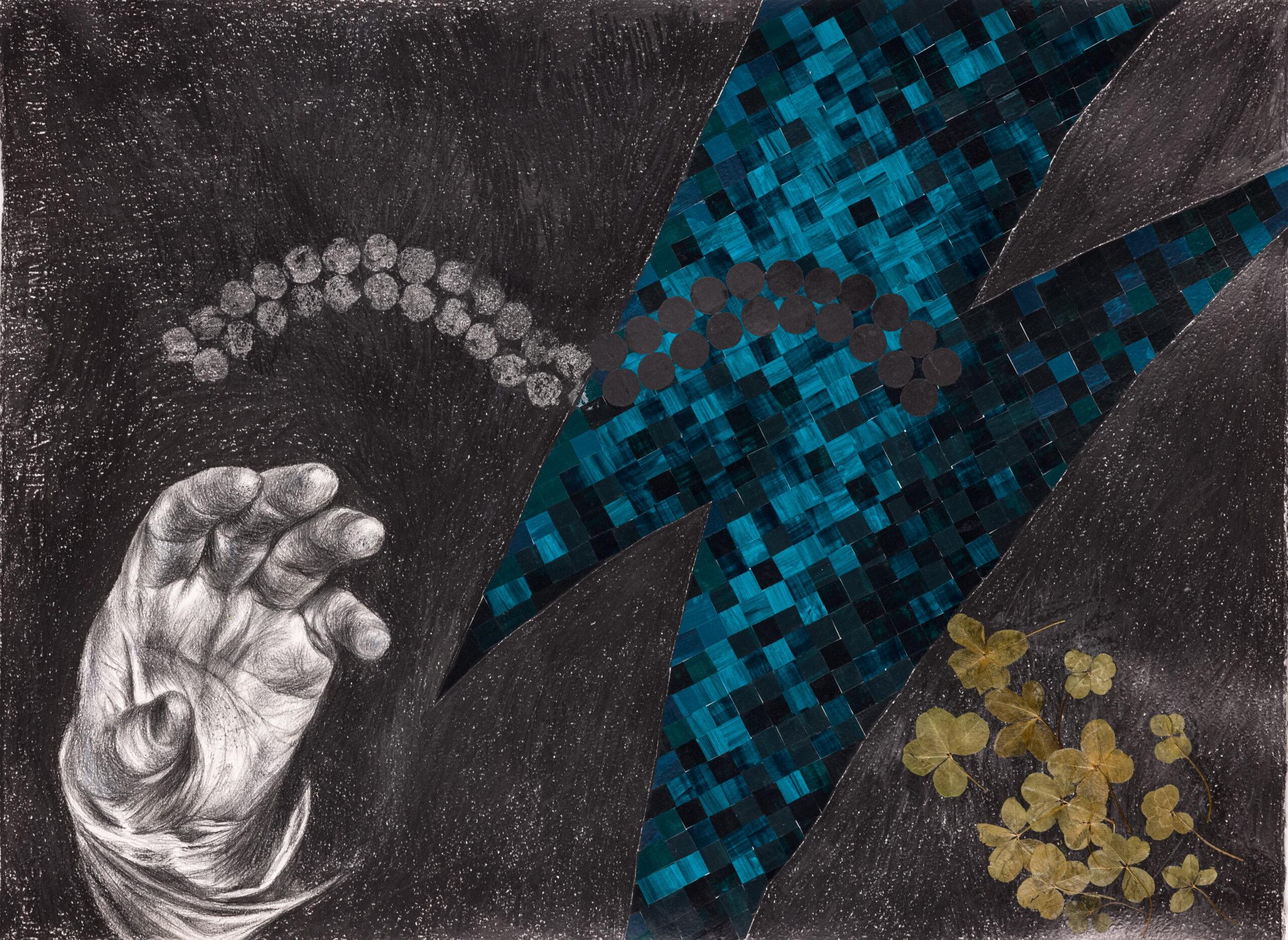 """Изложба цртежа и слика Даниеле Фулгоси """"Прелаз"""" до 21. маја у Малом ликовном салону"""