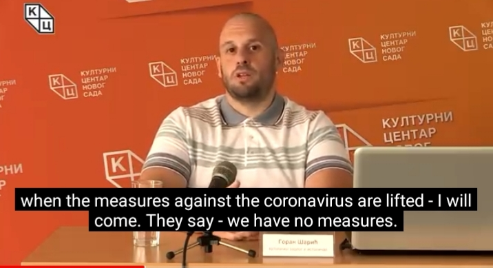 """Предавање теолога и историчара Горана Шарића, на тему """"Порекло Бошњака"""" преведено на енглески језик"""